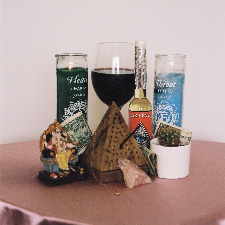 altars - 35mm + 120mm film, continuous series.