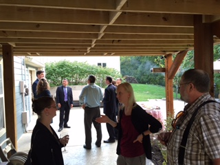 New Inn members and Inn officers started the year with our New Member Reception.