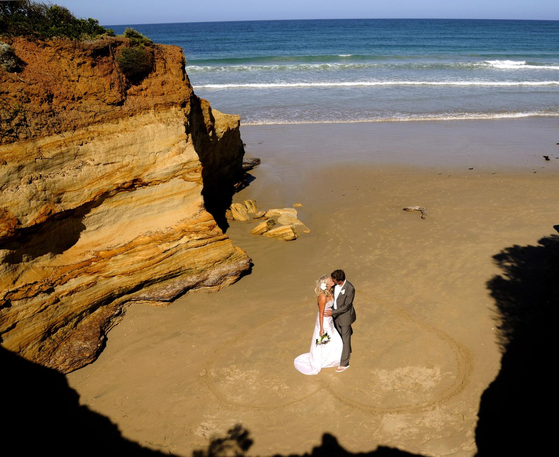 Anglesea wedding photographer