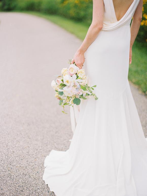 bridal style bouquet oregon