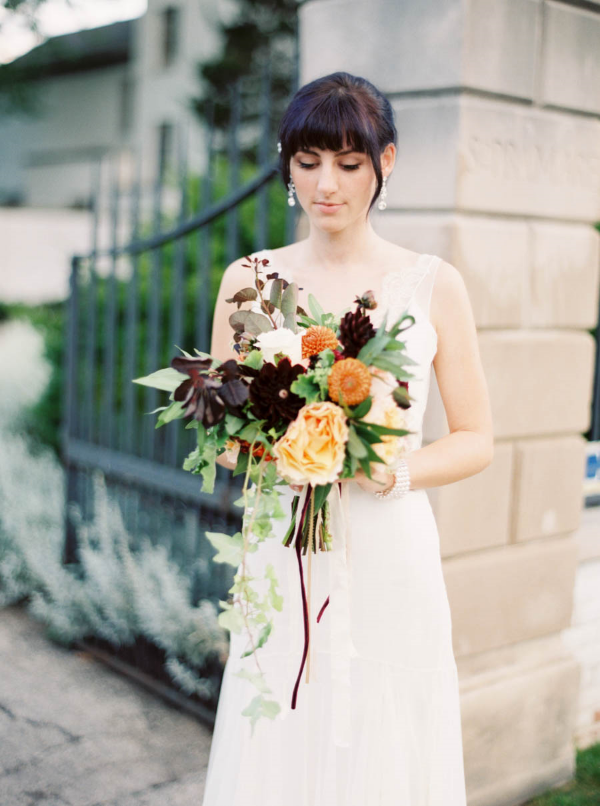 fall wedding flowers portland florist