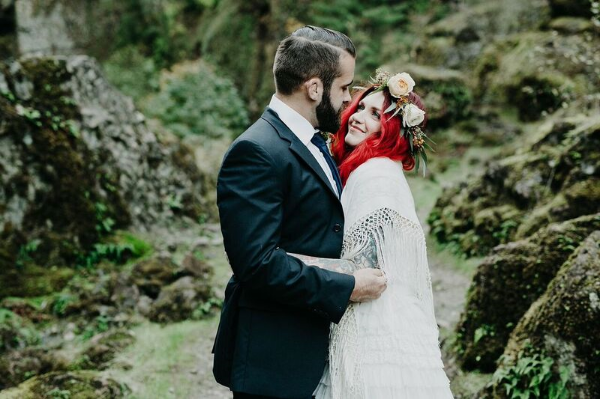 oregon elopement florist portland - foraged floral