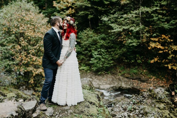 salem oregon wedding florist - foraged floral