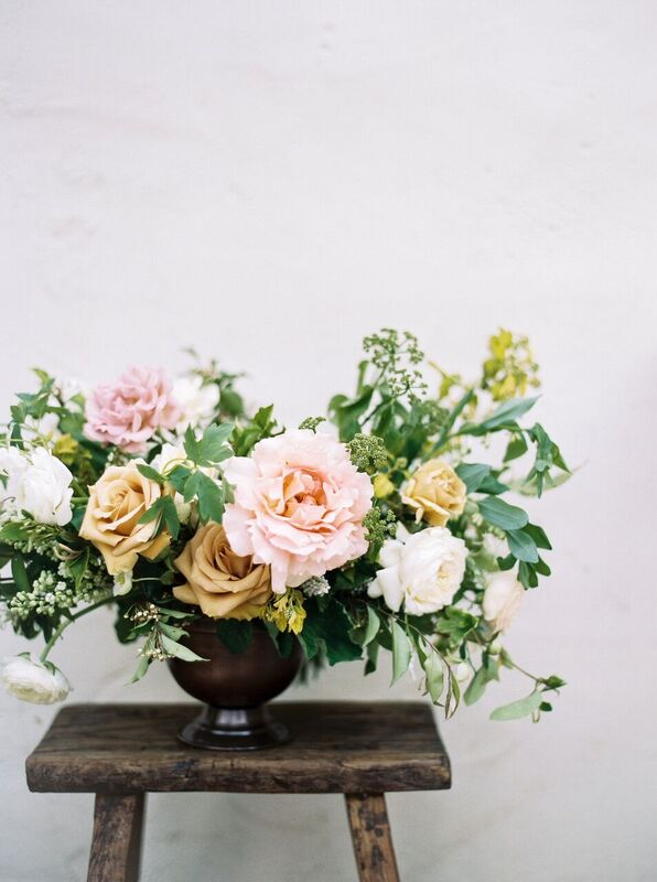 spring floral centerpiece - portland oregon florists - foraged floral
