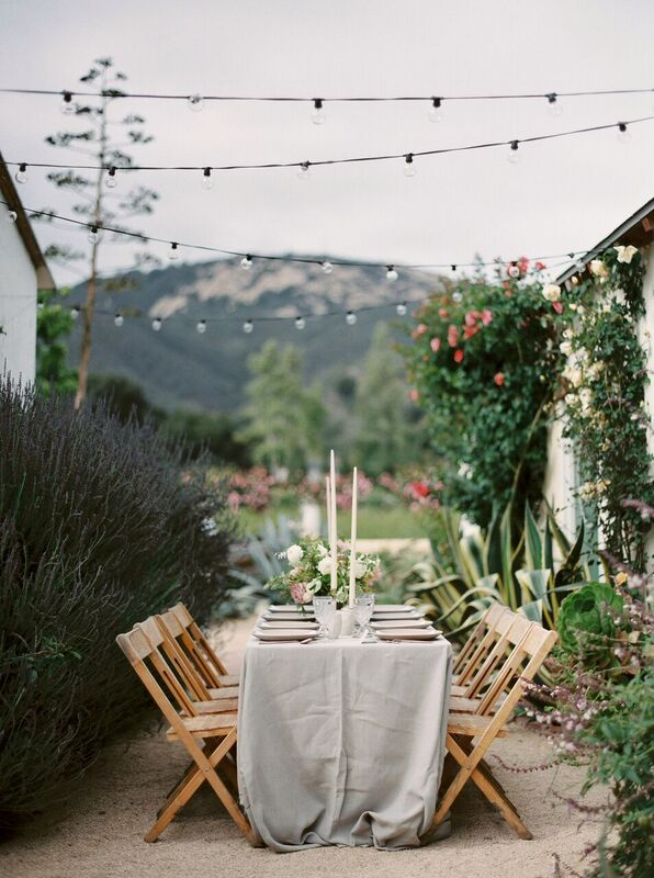 santa barbara CA wedding, florist foraged floral in portland, OR