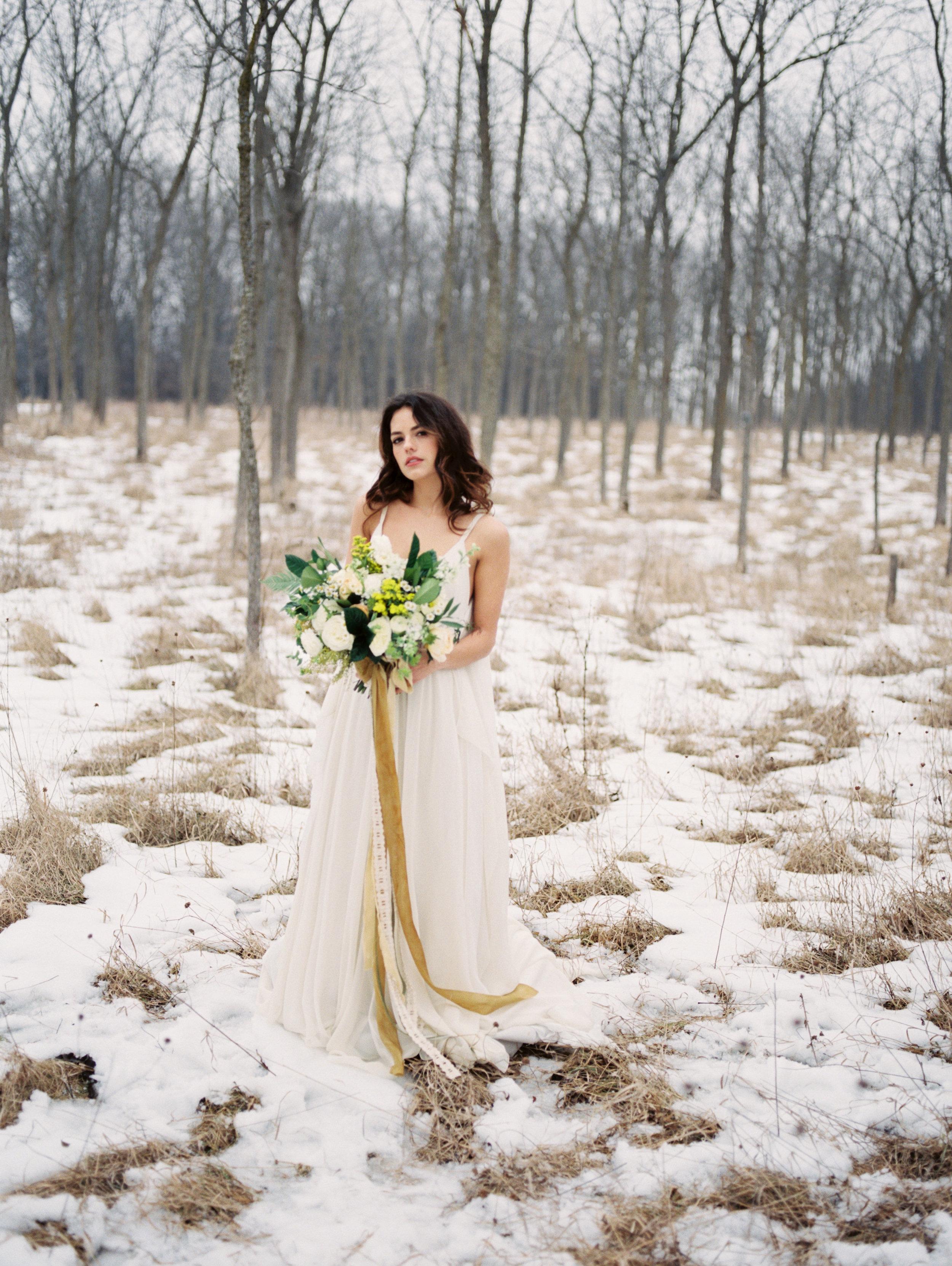winter wedding flowers yellow and white.jpg