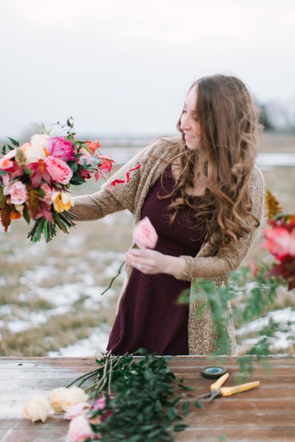 Portland Oregon Wedding florist - Foraged Floral