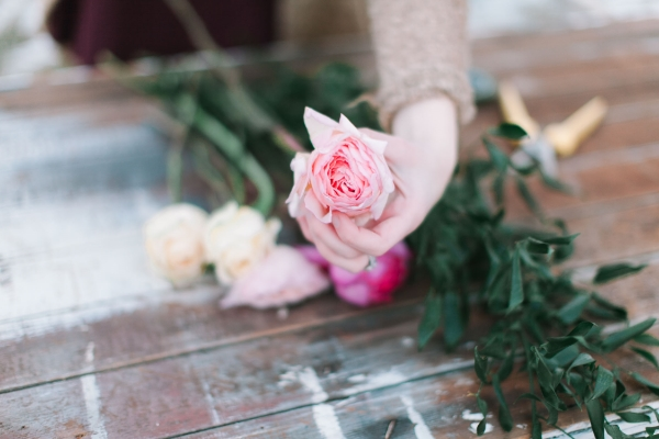 floral tutorial by foraged floral in portland oregon