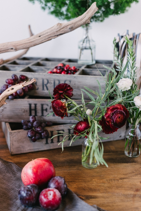 plum and burgundy wedding decor ideas by Foraged Floral in Portland, OR