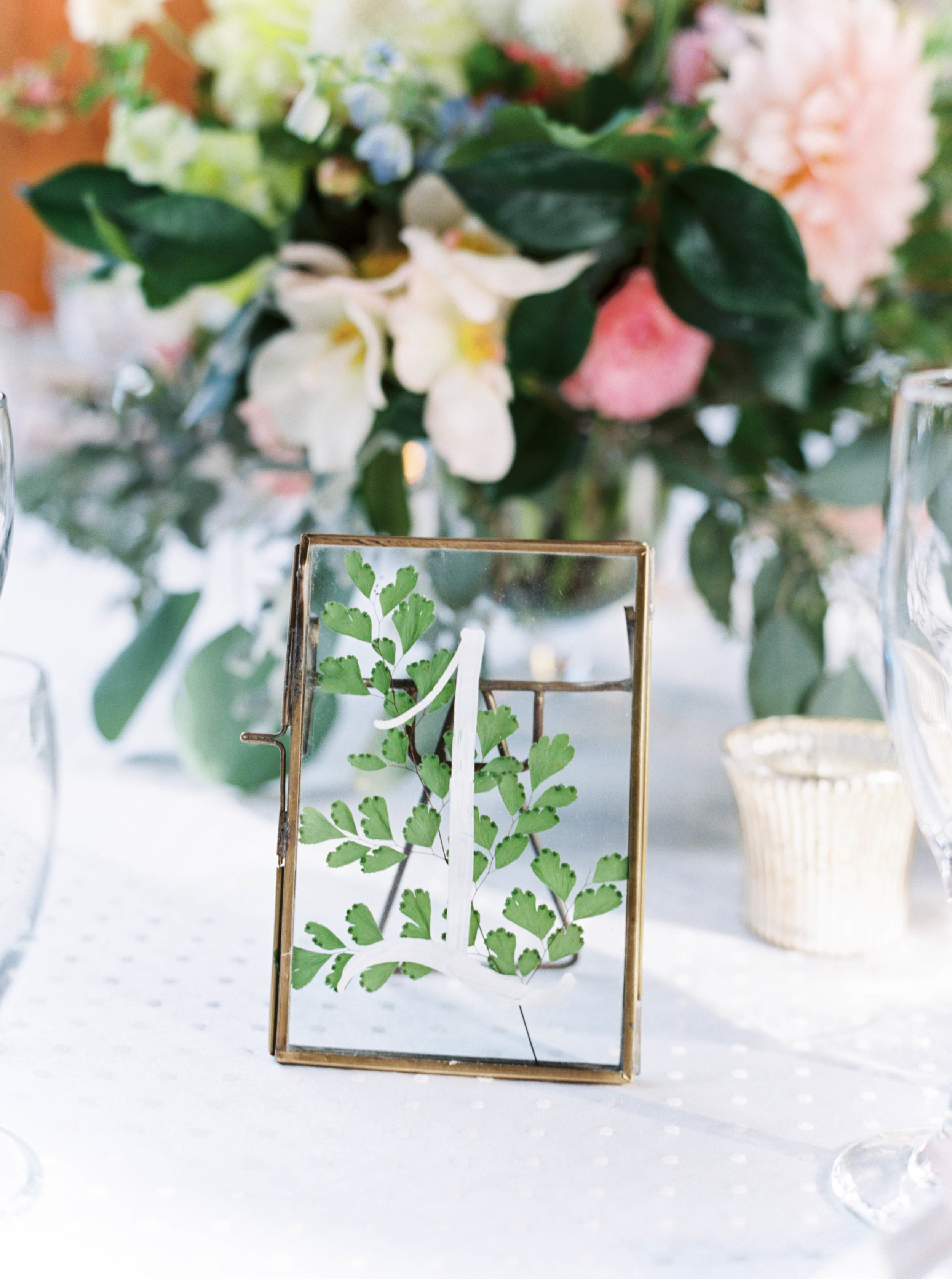 unique table numbers for wedding centerpiece for oregon mt hood wedding.jpg
