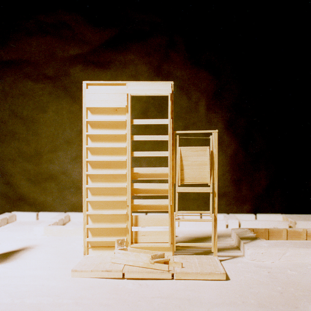 UPenn Integrated Design Thesis: Wood and Plaster Experiment 2. 1992
