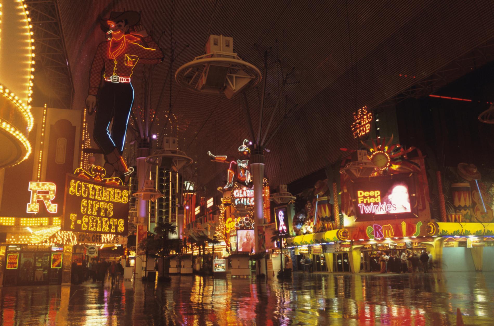 Contemporary view, Las Vegas