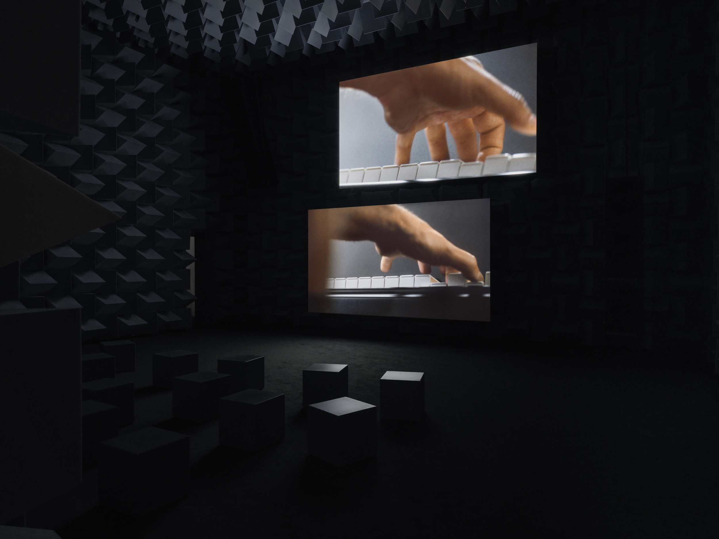 "Ravel Ravel,  2013. Installation view: ""Anri Sala: Answer Me,"" New Museum. Courtesy Galerie Chantal Crousel, Paris; Marian Goodman Gallery; and Hauser & Wirth. Photo: Maris Hutchinson / EPW Studio"