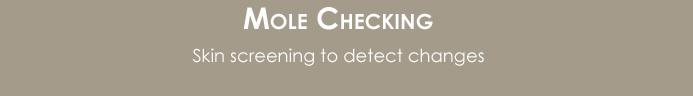 mole checking button