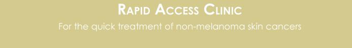 rapid access clinic button