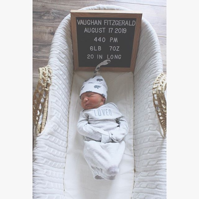 "8.25.19 // Eight days ago our world forever changed when our precious, wished-for, amazingly strong baby boy arrived in our arms. He knew we couldn't wait another minute and so, after a long and winding road, he arrived two and a half weeks early on August 17, 2019, at 4:40 PM, weighing 6 lb, 7oz, 20 inches long. 🐘 There are no words to describe the feeling of hearing him cry for the first time, and knowing that he was really here and in our arms. I know I will never, ever forget that moment. Our birth story is also something I will never forget and will cherish forever. The power of a mother's love is absolutely insurmountable, and I know that I would do anything for this boy. I know now why we had to wait. I know why our journey took so long and why each and every try before said, ""it's just not time yet."" I am so incredibly thankful to be able to say ""my son is here."" And for those of you still in the season of the waiting, please know that I see you and that you are not alone. I am so appreciative of this community and how they have allowed me to share my story. I am so thankful to all of the incredible, compassionate artists who joined my family in helping to bring Vaughan to us by participating in the @whimsiebaby auction, just over a year ago! I am so excited to get back to the bench late this fall— we have missed you all so much and have been so thankful for the messages and love throughout my pregnancy and beyond! 🐘💙🌈👶🏻"