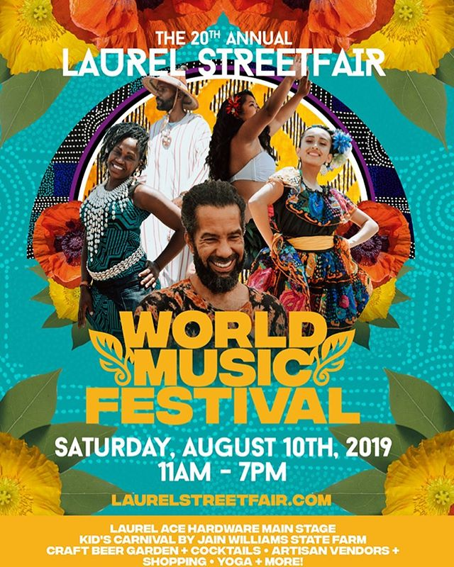 This Saturday ☀️ 🍺  Join us at the @laureloakland #LaurelStreetFair