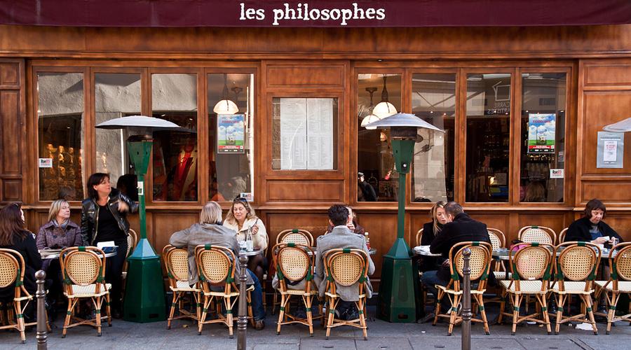 Les Philosophes. - 28 Rue Vieille du Temple, 75004 Paris