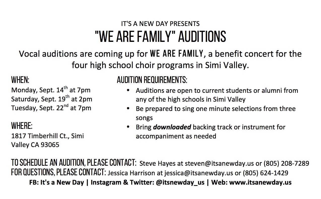 We Are Family Auditions Flyer.jpg