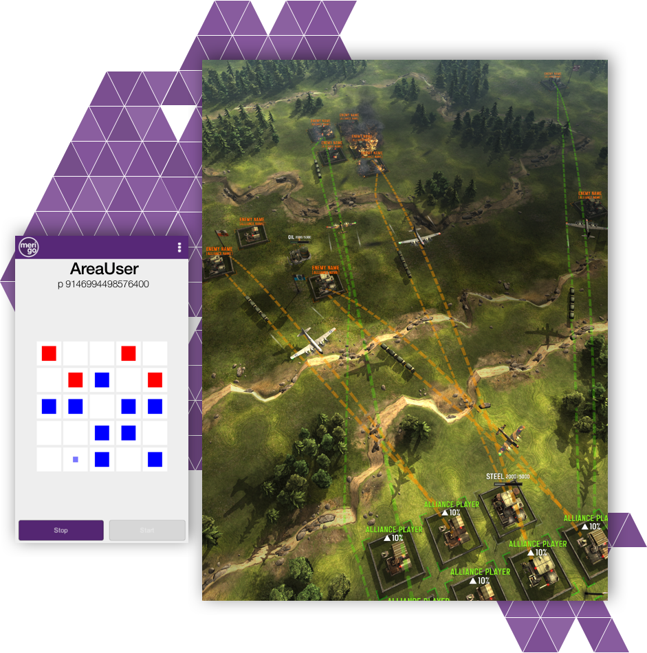 Create Huge Worlds - Merigo allows for hundreds of thousands of players to interact with each other in real-time. Quickly create experiences that match today's top grossing strategy and simulation games.