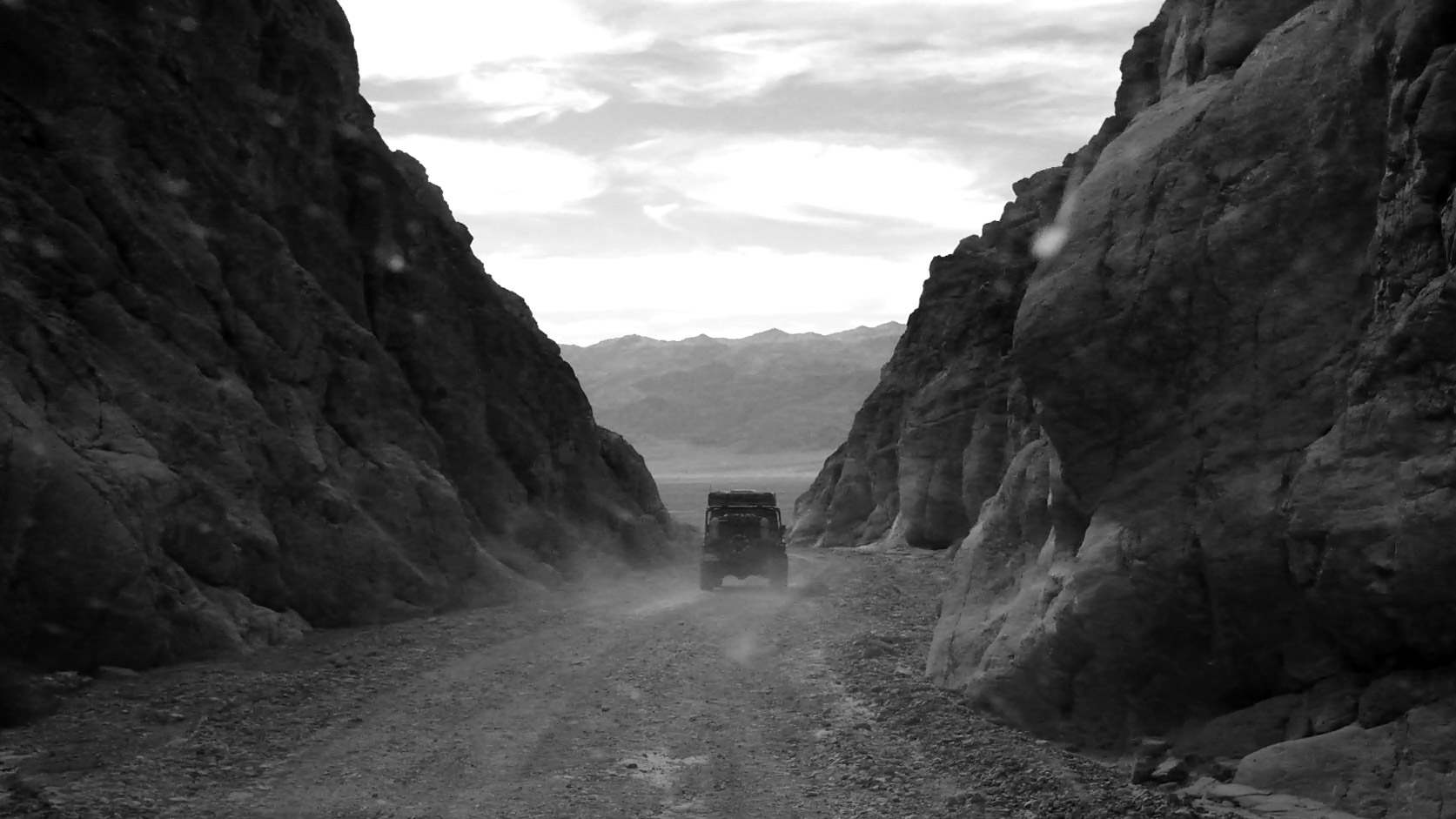 Off-roading in Death Valley.