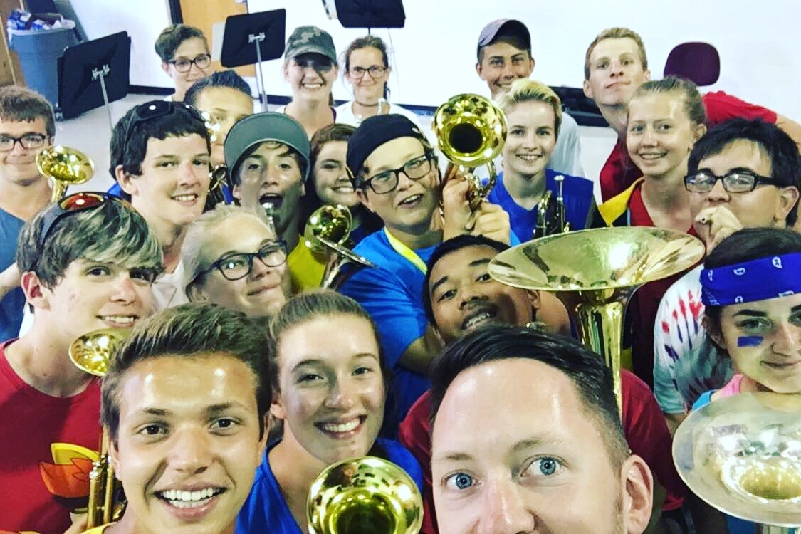 Watkins Memorial High School Trumpets and Horns - 2016