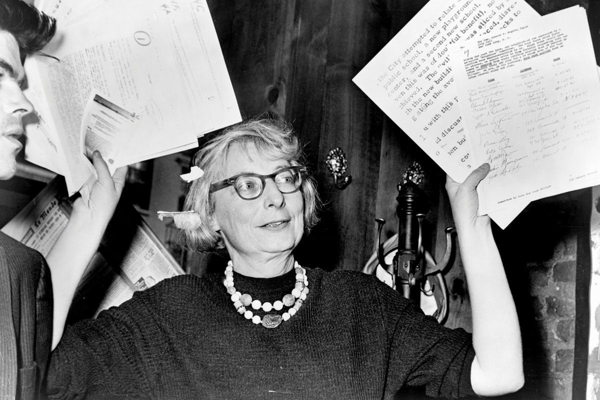"""We expect too much of new buildings, and too little of ourselves."" - Jane Jacobs, Architectural Writer."