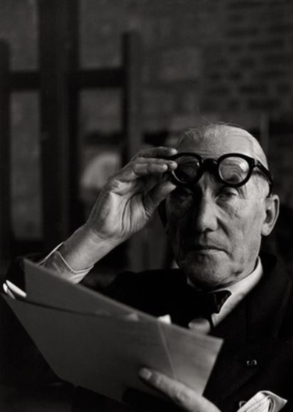 "Le Corbusier - Writer and Architect of ""Vers Une Architectur"", 1924. (Photography by Andre Villers)."