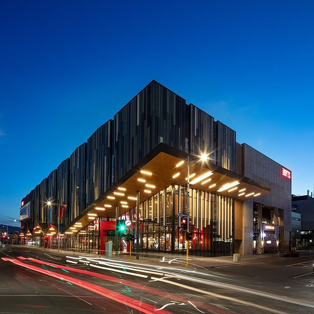 Entx - The Entertainment Exchange was awarded Excellence in The PCNZ Property Awards Retail Category sponsored by Yardi. The awards celebrate the best of the property industry, and we're very proud of our work on this exciting new entertainment and dining complex in Christchurch City. #ignitearchitects #ignite #architecture #archite #retail #entertainment #christchurch #entx #interiordesign #design #designers #calderstewart #decor #hoytscinema #food #resturants