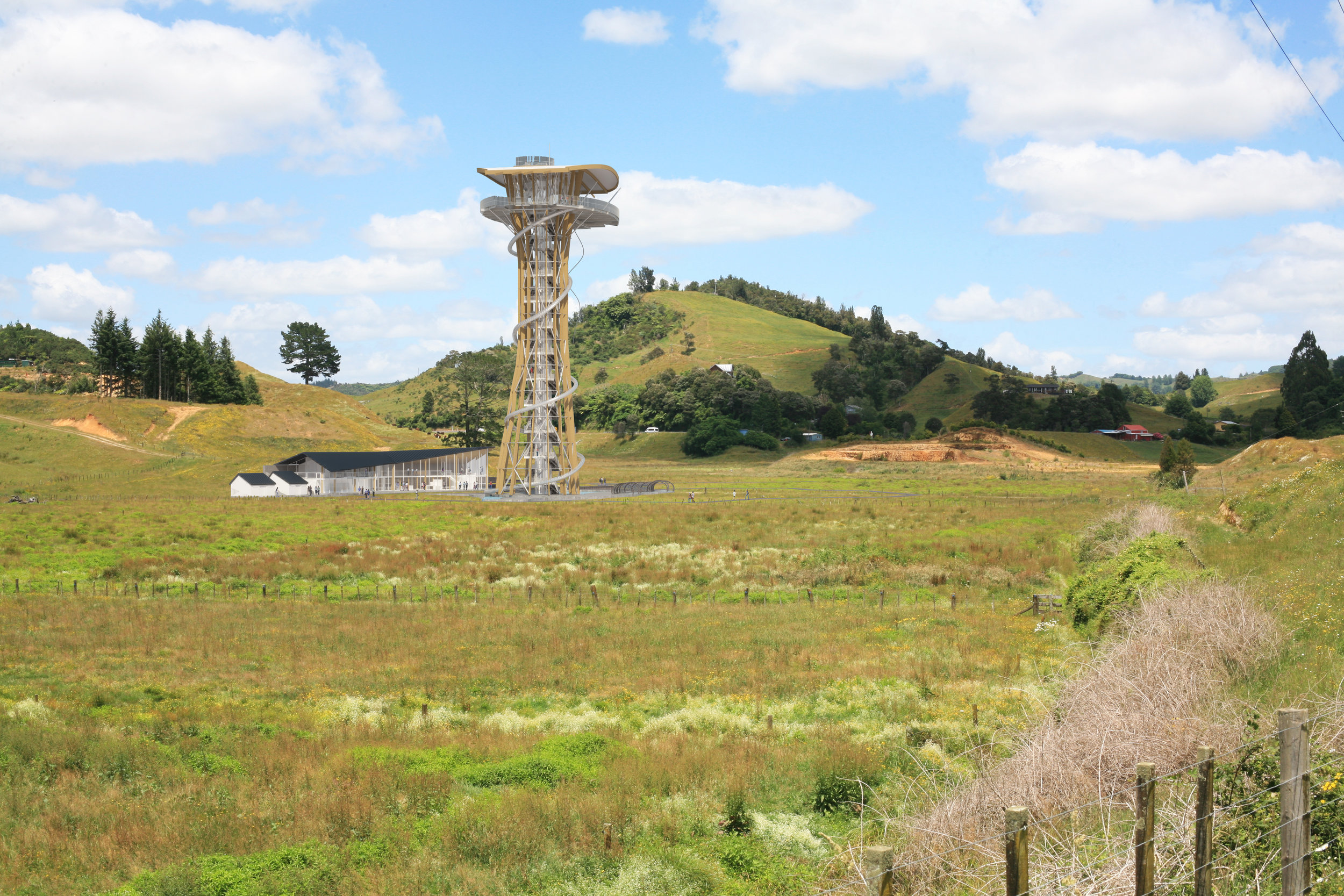­­Waitomo Bungy Tower