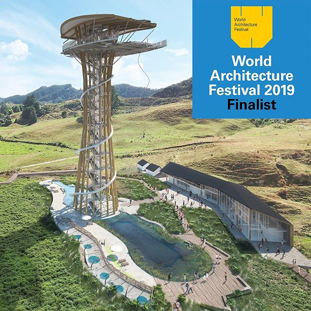 We are jumping for joy! Our Waitomo Bungy Tower has been shortlisted for the 2019 @worldarchfest in the 'Future Project: Leisure Led Development' category. We're excited to be working with @form_building_developments on this world-first tourist attraction.  #WAF19 #Ignite #ignitearchitects #architecture #newzealand #waitomo #concept #design #designer #leisure #fun #bungeejumping #tower #jump #slider #height #friends #encouragement #skygarden #structure #structuralengineering #joy #future #world #jumping #category #touristattraction #development #form