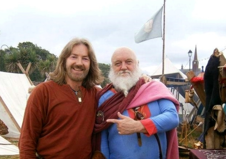 Tyr and robert low in largs, scotland