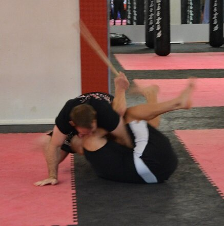 Glima Grappling with weapons