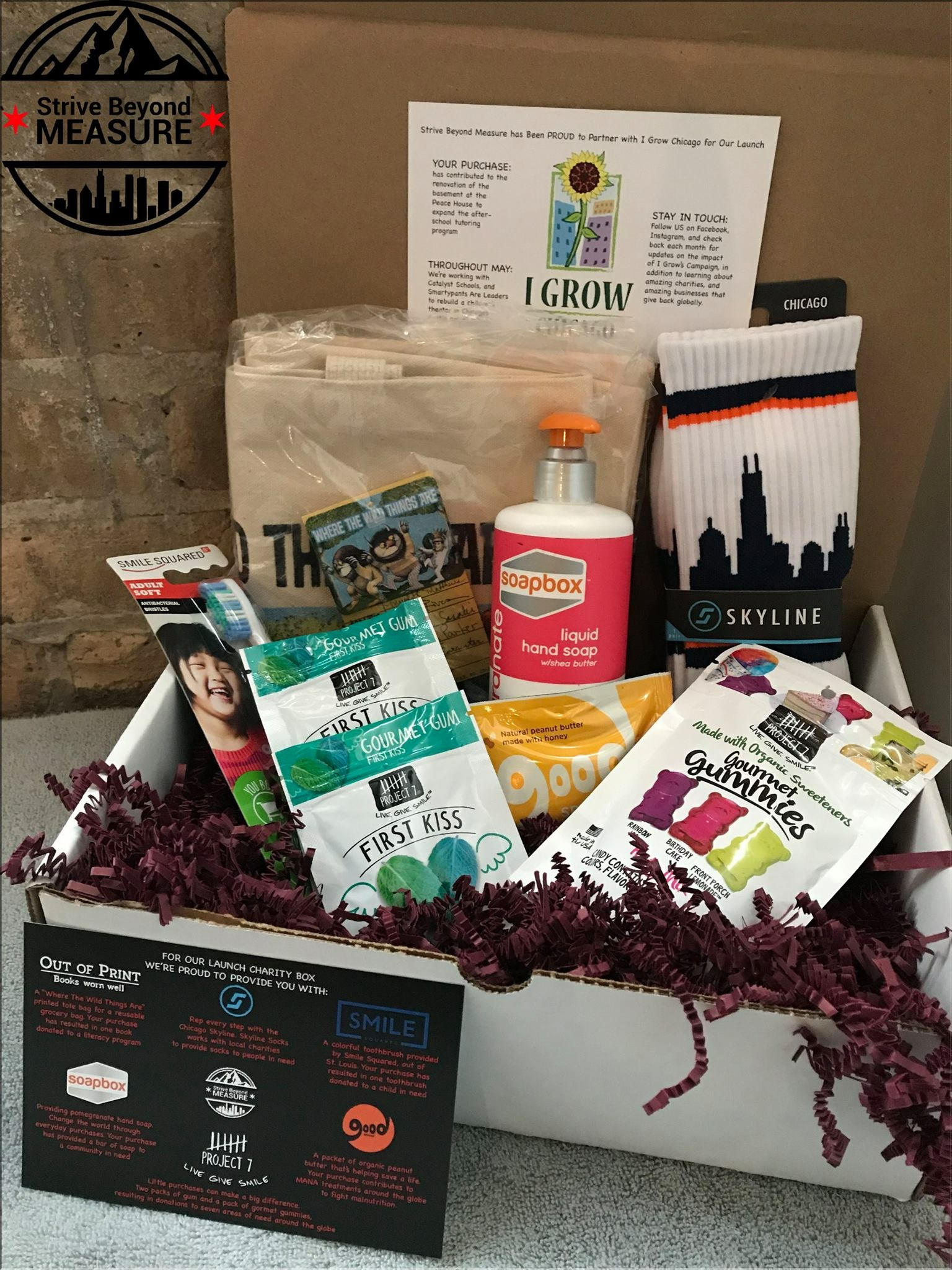 Art Start Gift Box by Charity Made Simple