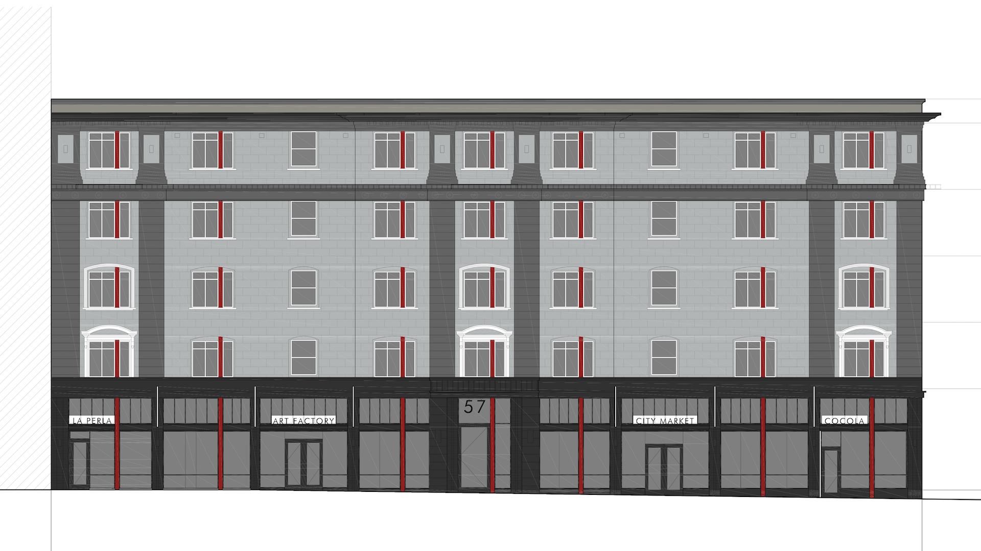 New Grand Apartments (circa 2014)