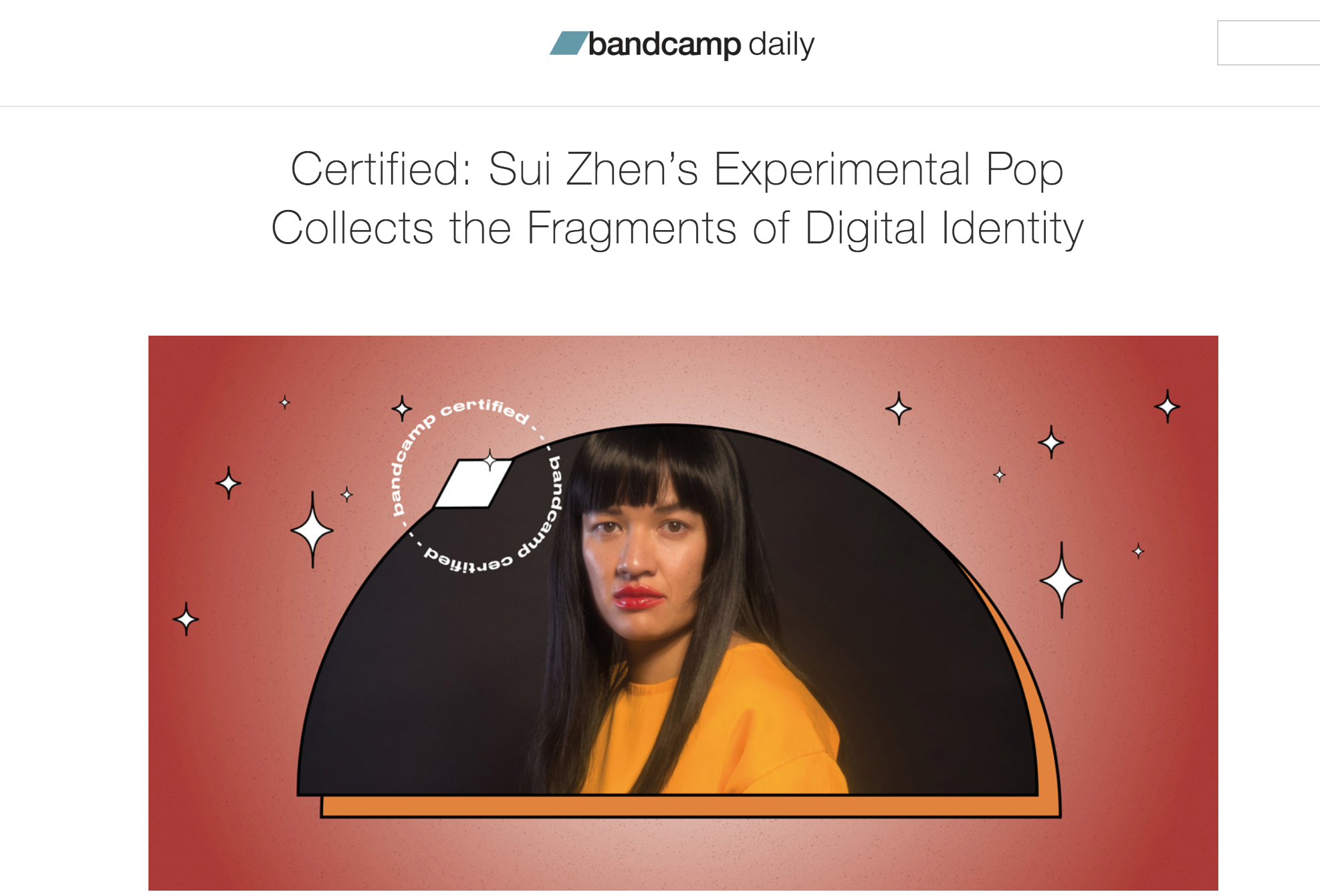 Bandcamp Certified - Interview for Bandcamp Daily by Martyn Pepperell