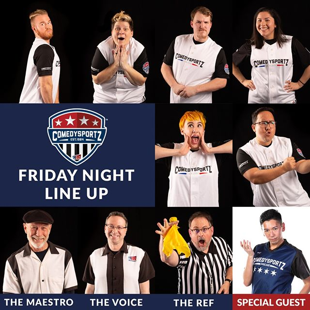 "🎆And they said Fireworks weren't allowed in the county... ""THEY"" clearly haven't been to a show at ComedySportz! 🎆 This Friday we're going to light it up with an AWESOME cast featuring @cszchicago's own Kevin Daliva! ⁠ -⁠ -⁠ 🎟️ link in the bio 👆⁠ -⁠ -⁠ #cszsanjose #comedysportzsanjose #sanjoseevents #whattodothisweekend #improv #improvcomedy #loyalfans #improv4everyone #familyfriendly #cszworldwide #playertrade"