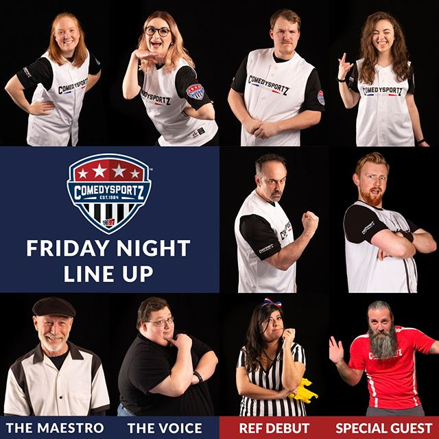 Well Hey! 🌟A Ref Debut!🌟 This Friday Lizzy makes her debut! She's one in a million with great comedic timing, confident sass, and eagle's eye for details! Don't miss an exciting night as we bring another talented ref to the roster!⁠ -⁠ 🎟️ link in the bio 👆⁠ -⁠ -⁠ ⁠ #cszsanjose #comedysportzsanjose #sanjoseevents #whattodothisweekend #improv #improvcomedy #improvis4everyone