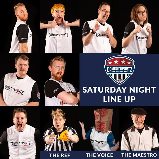 ⁠ 🤣 Saturday night is going to be a blast! Whether you're ending your week or just beginning - A night of funny is worth it! 🤣 ⁠ -⁠ 🎟️ link in the bio 👆⁠ ⁠ -⁠ -⁠ #cszsanjose #comedysportzsanjose #sanjoseevents #whattodothisweekend #improv #improvcomedy #comedy #bestofsiliconvalley #comedysports #comedyclubs #cszworldwide #comedysportz #loyalfans #laugh⁠