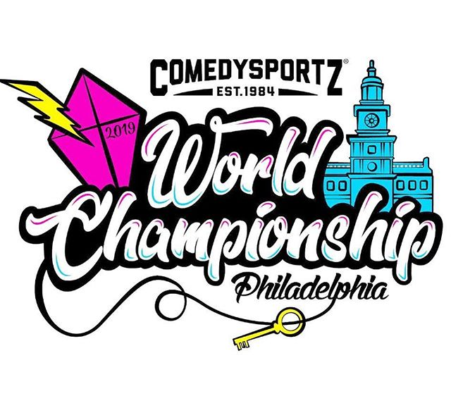 This week we're headed to the WORLD CHAMPIONSHIPS in Philadelphia! There are 25 ComedySportz teams and this week they head to Philadelphia. Want to keep up on all of the things? Lizzy will be on site for a full Instagram and Facebook story take over! Check out the story and join in on the fun! 👆 - - #cszworldwide #cszphiladelphia #cszworldchampionship2019 #cszsanjose #lizzytakeover #beathouston #thengivethemahugfromme