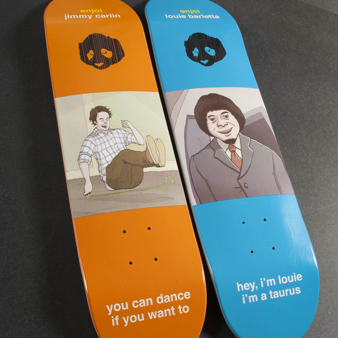enjoi skateboards flashback IMPACT Plus decks