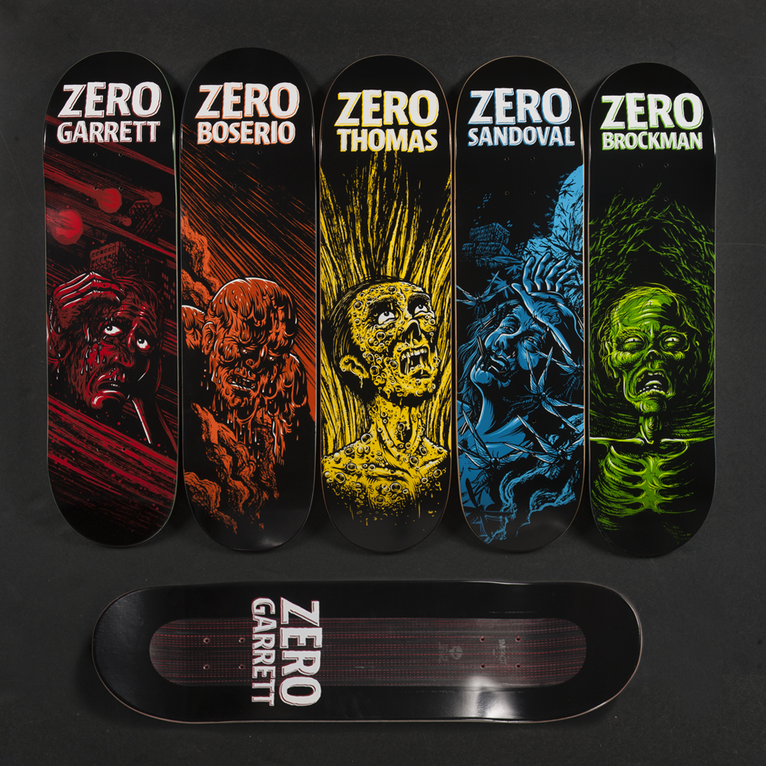 Zero Skateboards IMPACT Light Apocalypse Series