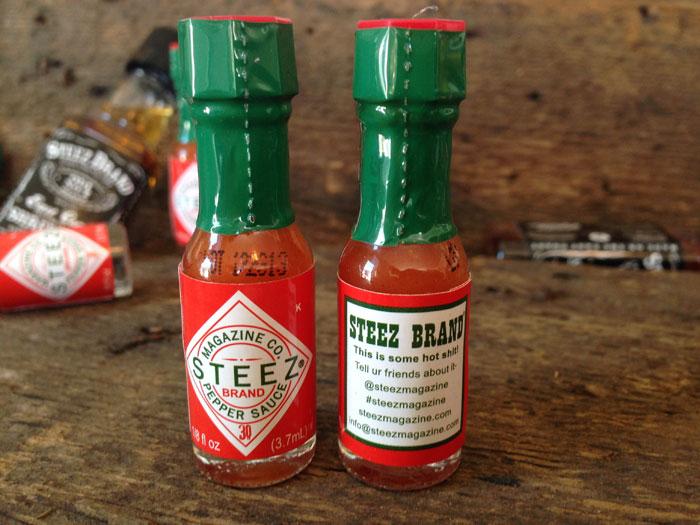 Steez Brand Hot Sauce