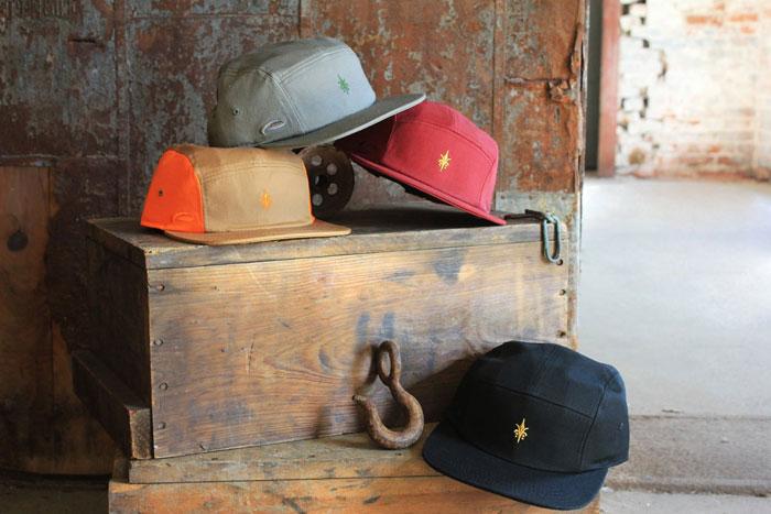 Steez Fleur 5-panel Hat
