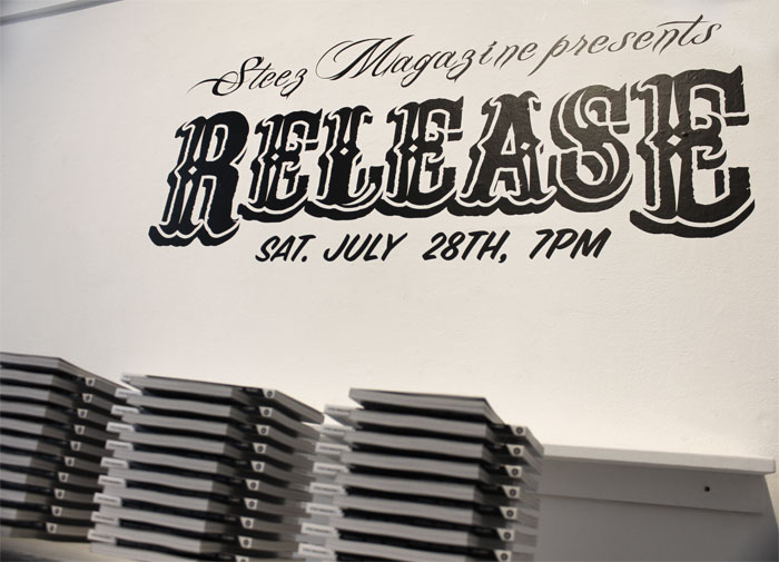 Steez 24th Release Party at 301 Gallery