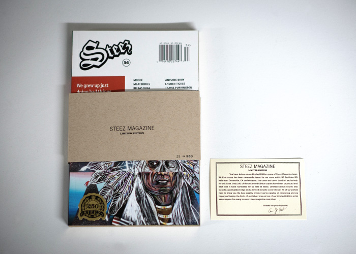 Steez Issue 34 Limited Edition with Belly Band