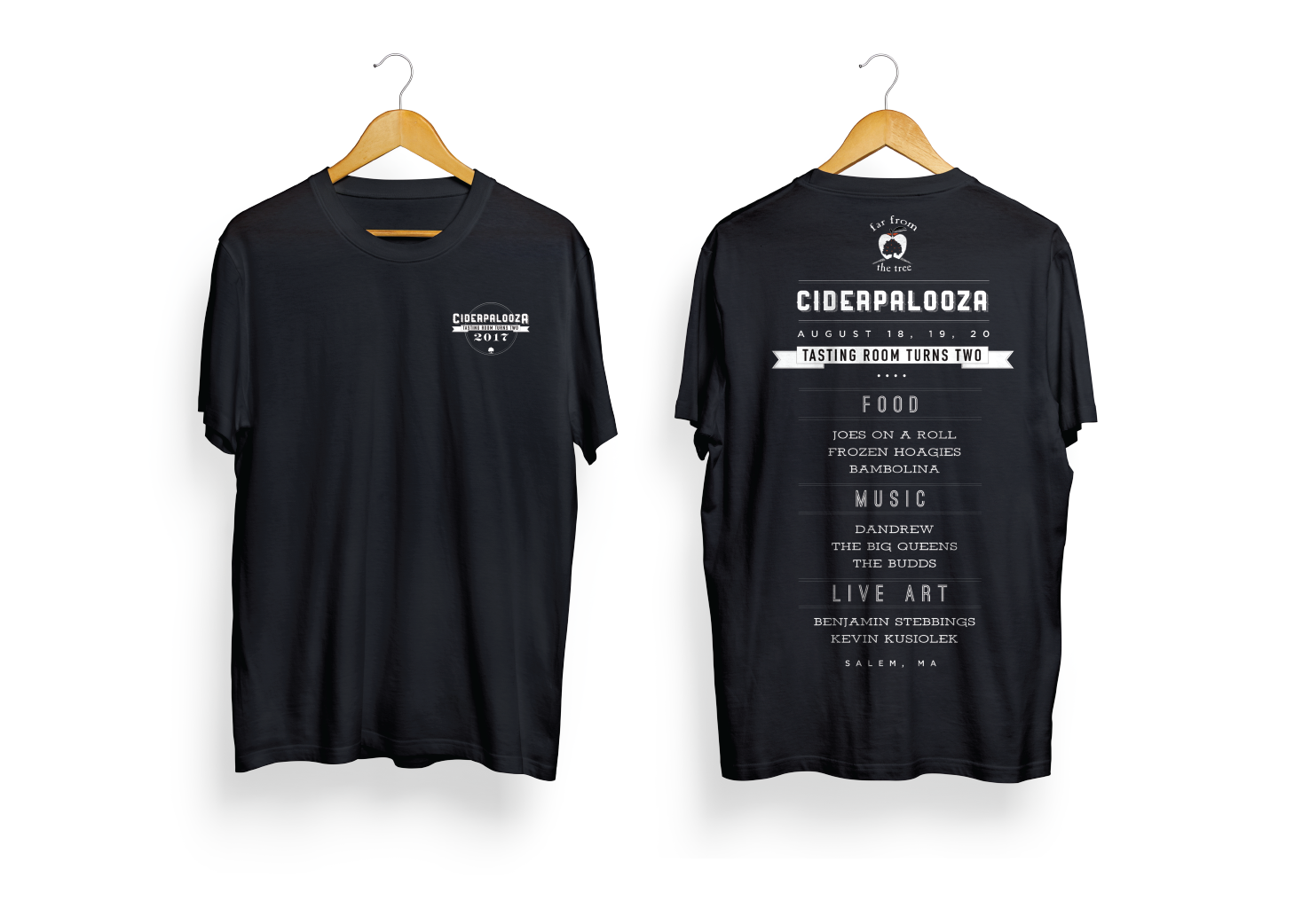 Far From The Tree - Ciderpalooza 2017 Tee