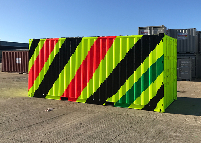Neon Dream Container