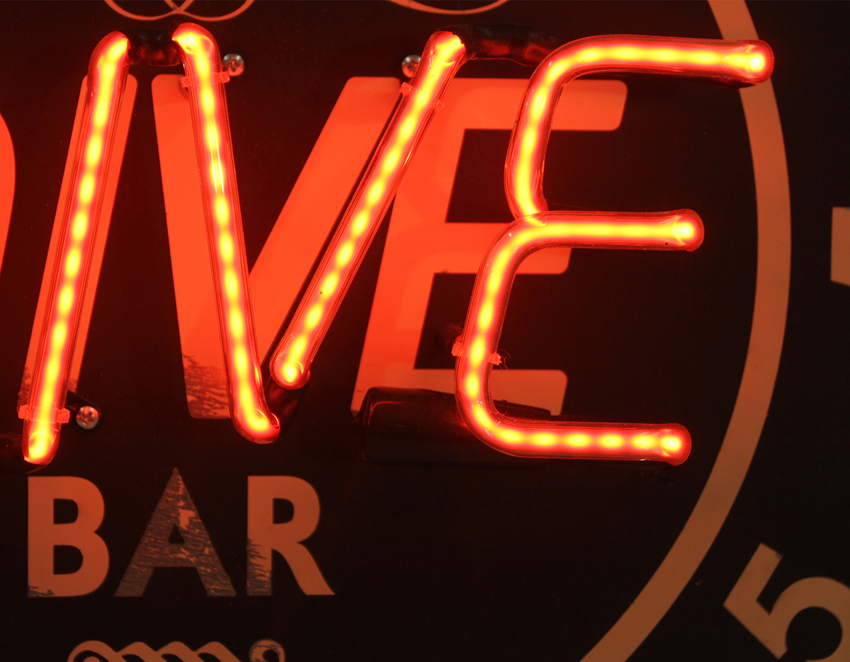 Neon/Lighted Signs — Steez Design