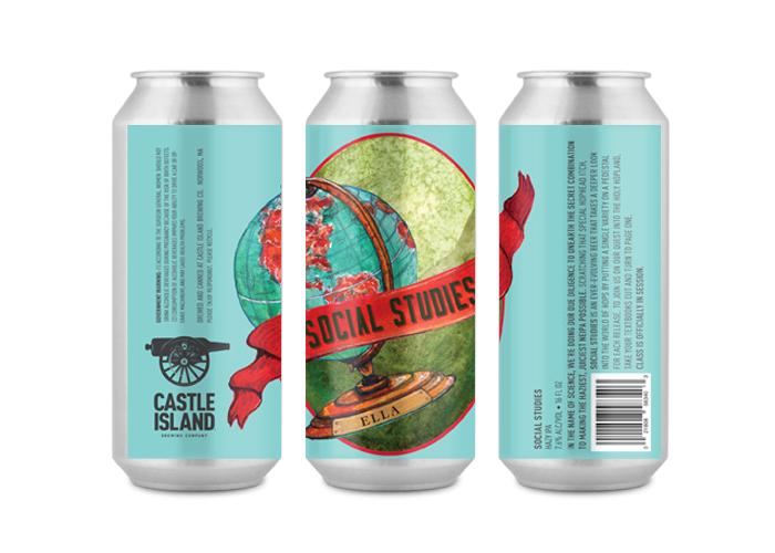 Castle Island / Social Studies - Beer Labels